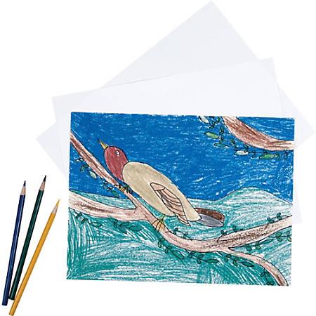 "Pacon® Sulphite Drawing Paper, 18"" x 24"", 80 Lb, White, 500 Sheets"
