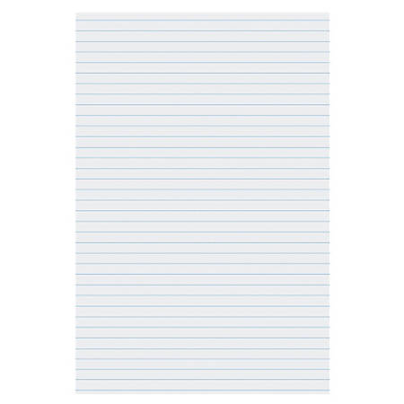 """Pacon® Ruled Chart Paper, Heading, 1"""" Faints, Ruled 24"""" Way 1 Side Only"""