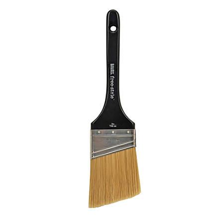 "Liquitex Free-Style Large-Scale Paint Brush, 3"", Angualr Bristles, Synthetic, Black"