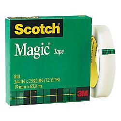Scotch Magic 810 Tape 34 x