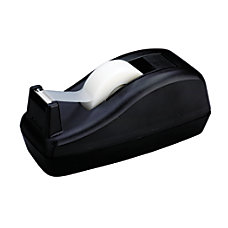 Scotch Deluxe Desk Tape Dispenser Black