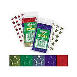 Eureka Presto Stick Foil Stars 12