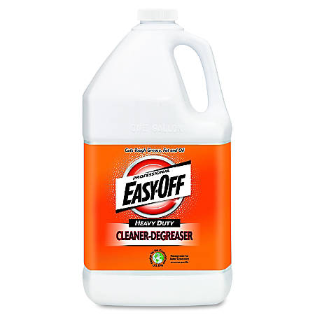Easy-Off Professional Concentrated Cleaner-Degreaser - Concentrate Liquid - 1 gal (128 fl oz) - 2 / Carton - Green