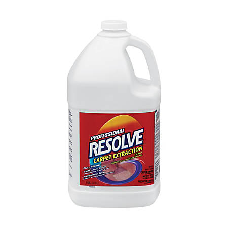 Resolve Professional Carpet Extraction Cleaner, 1 Gallon