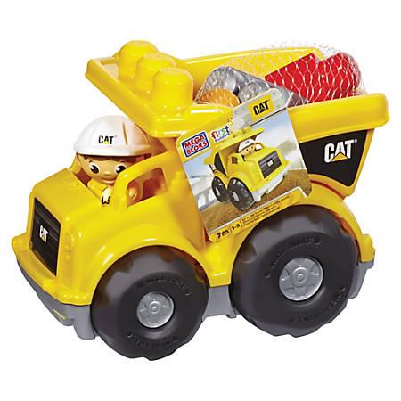 Mega Bloks Mega Bloks First Builders CAT Rolling Dump Truck
