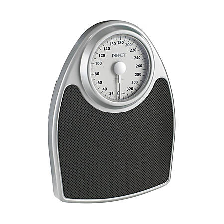 Conair® Thinner Analog Precision Scale, Silver
