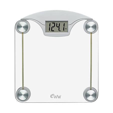 Conair® Weight Watchers® Digital Bathroom Scale, Silver