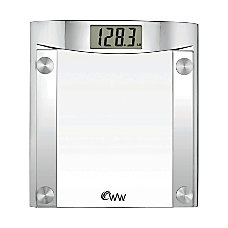 Conair Weight Watchers Digital Scale Silver