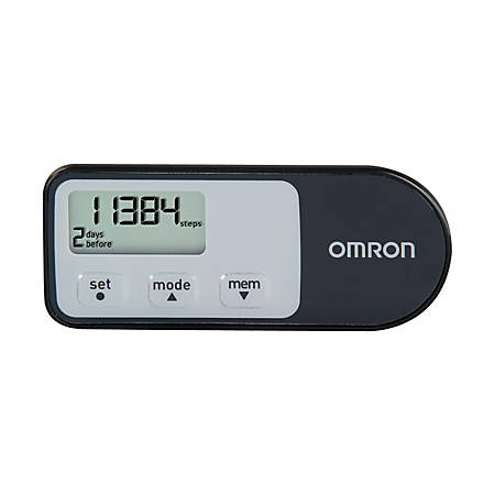 Omron HJ-321 Tri-Axis Calorie Pedometer (Black)
