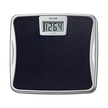 Taylor Digital Bathroom Scale, Black