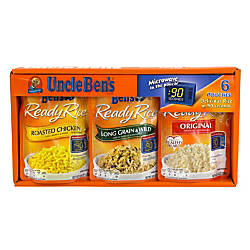 Uncle Bens Ready Rice Variety Packs
