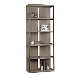 Sauder International Lux 5 Shelf Bookcase