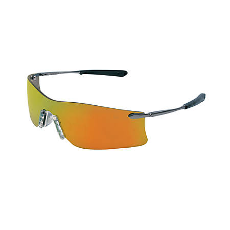 Rubicon Protective Eyewear, Fire Lens, Polycarbonate, Scratch-Resistant, Frame