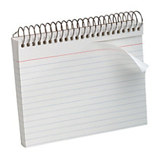Oxford Spiral Bound Index Cards Ruled