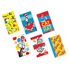 Amscan Dr Seuss Notepad Party Favors