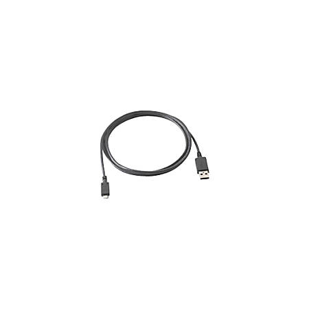 Zebra 25-128458-01R USB Cable Adapter - USB Data Transfer Cable - Type A Male USB - Proprietary Connector - Black