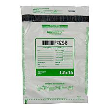 12X16 STAT CLEAR DEPOSIT BAG