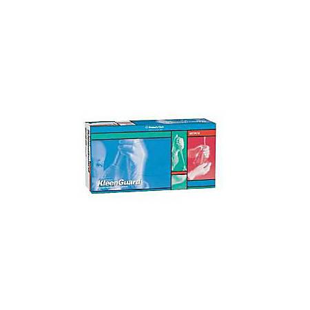 Kleenguard G10 Powder-Free Nitrile Gloves, 6 mil, X-Large, Blue, Box Of 90 Gloves