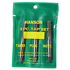 Plastic Pouched Sets Tapers Bottoming and