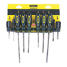 Stanley Tools 10 Piece Standard Fluted