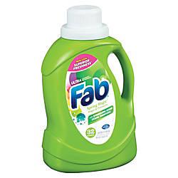 Ajax Ultra FAB Laundry Detergent Spring