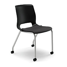 HON Motivate Stacking Chair With Casters