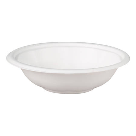 Genpak® Celebrity Bowls, 32 Oz, White, 100 Bowls Per Pack, Container Of 4 Packs