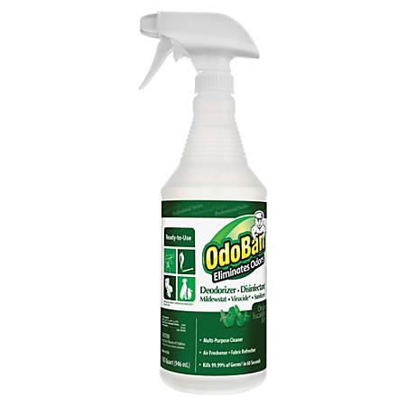 OdoBan® Multi-Purpose Deodorizer & Disinfectant Spray, Eucalyptus Scent, 32 Oz