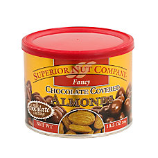 Superior Nut Fancy Chocolate Covered Almonds
