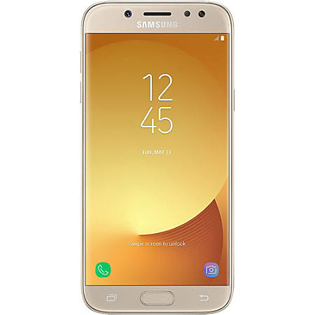 Samsung Galaxy J7 Pro J730G Cell Phone, Gold, PSN101013