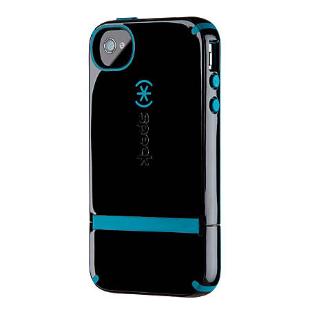 Speck® CandyShell™ Flip Case For Apple® iPhone® 4/4S, Black/Peacock