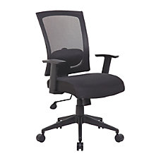 Boss Office Products Mesh Back Task