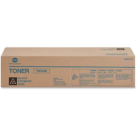 Konica Minolta TN314K Original Toner Cartridge - Laser - 26000 Pages - Black - 1 Each