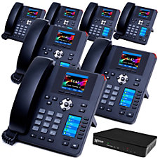 XBLUE QB1 VoIP Phone System Bundle