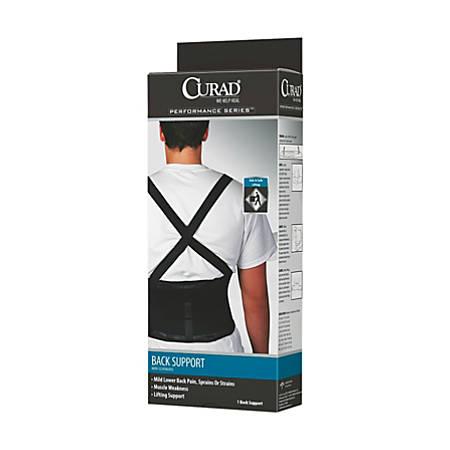 CURAD® Back Support, Large, Black