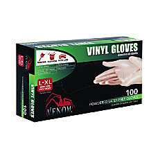 Powdered Vinyl Multi Purpose Disposable Gloves