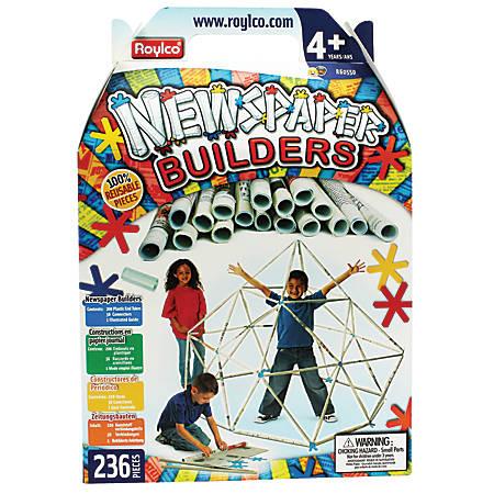 Roylco® Newspaper Builders Set, Multicolor, Pre-K To Grade 2