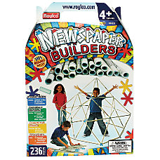 Roylco Newspaper Builders Set Multicolor Pre