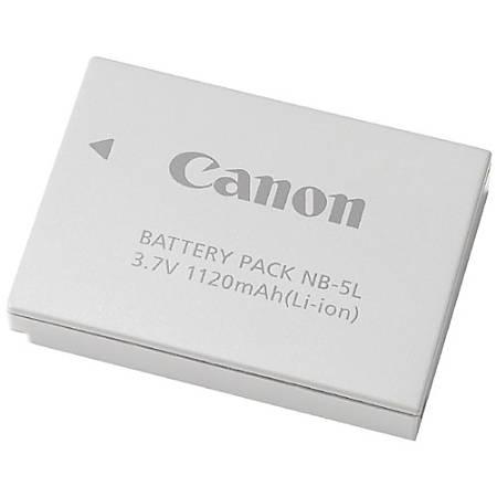 Canon NB-5L Lithium-Ion Digital Camera Battery - Lithium Ion (Li-Ion) - 3.7V DC