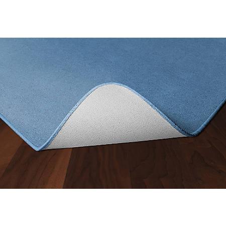Flagship Carpets Americolors Rug, Square, 6' x 6', Blue Bird
