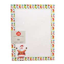 Gartner Studios Stationery Sheets Whimsy Santa
