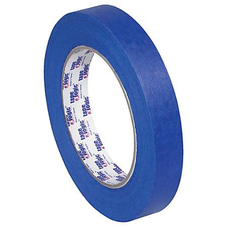 "Tape Logic® 3000 Painter's Tape, 3"" Core, 0.75"" x 180', Blue, Case Of 12"