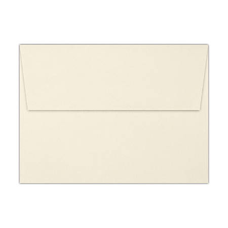 "LUX Invitation Envelopes With Peel & Press Closure, A7, 5 1/4"" x 7 1/4"", Gold/Natural, Pack Of 250"