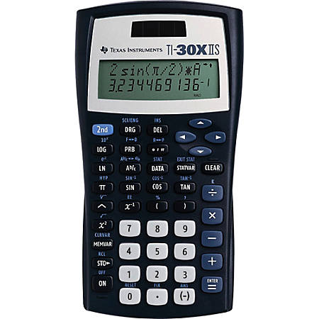 texas instruments ti 30x iis solar scientific calculator by office
