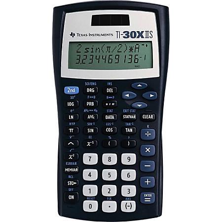 Texas Instruments Ti 30x Iis Solar Scientific Calculator By Office