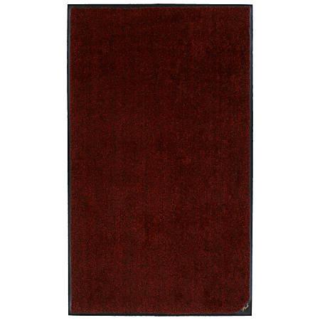 """M + A Matting Colorstar Plush Floor Mat, 36"""" x 48"""", Red Pepper"""