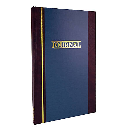 """Account Book, Journal, 11 3/4"""" x 7 1/4"""", 300 Pages"""