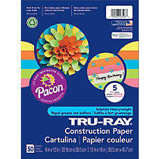 Tru Ray Construction Paper 9 x