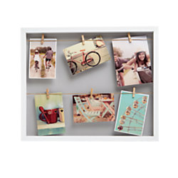Gnbi Photo Frame With Clips 16 3 4 X 19 1 2