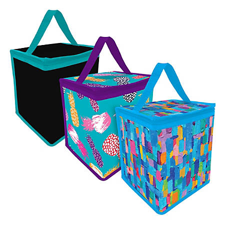 Office Depot® Brand Insulated Lunch Tote, Assorted Colors
